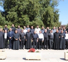 بدء الرياضة الروحية السنوية لكهنة البطريركية اللاتينية في الأردن