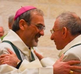 Encuentro de oración conjunto de católicos y luteranos en Belén