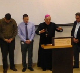 An Ecumenical Prayer Breakfast at the English Hospital in Nazareth