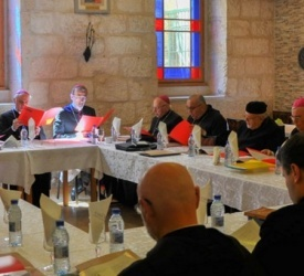 مجلس رؤساء الكنائس الكاثوليكية في الأرض المقدسة يجتمع في بيت لحم