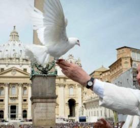 قدّاس بمناسبة الذكرى الرابعة لانتخاب البابا فرنسيس