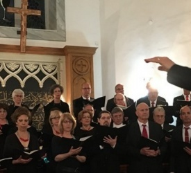 Ehoud Women's Chorale present a Lenten concert at the Anglican Church in Nazareth