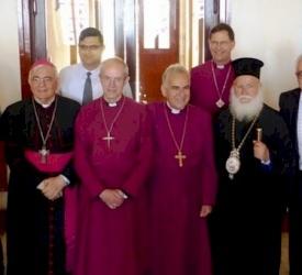 Archbishop Justin Welby visits Nazareth