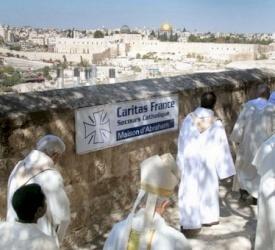 الاحتفال بعيد سيدنا ابراهيم في بيت ابراهيم في القدس