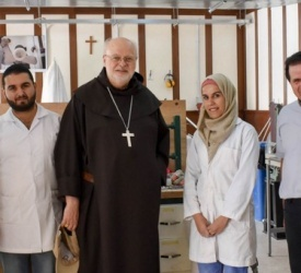 Visit of Cardinal Anders Arborelius to Our Lady of Peace Center