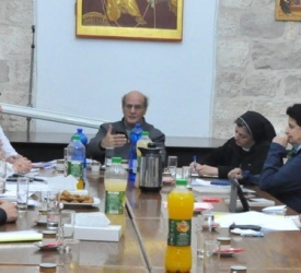 The Pastoral Office holds its third meeting in Jerusalem
