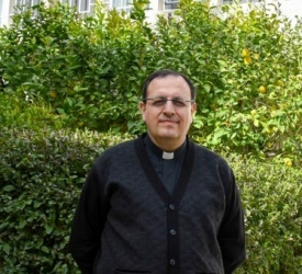 """Fr. Yacoub Rafidi: """"Being rector of Latin Patriarchal Seminary is a big responsibility, for the seminary is the beating heart of the Diocese"""""""