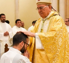 """Firas Abedrabbo, new deacon of the Latin Patriarchate: """"Vocation is an inner call to adventure and conversion"""""""