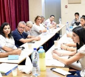 المكتب الرعوي لأبرشية القدس يحضّر لانطلاق مسيرة العائلات في اجتماعه الثامن
