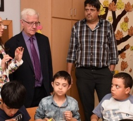 Holy Land Commission on second visit to various projects in the Jerusalem Diocese