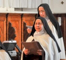 The Carmel of the famous Pater Noster celebrate Saint Teresa of Avila