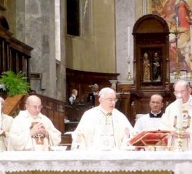 Bishop Marcuzzo celebrates in Vittorio Veneto the silver jubilee of his episcopal ordination
