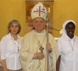 The Comboni Sisters celebrate the temporary vows of novice