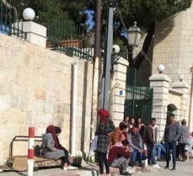 Bethlehem University suspends classes until further notice