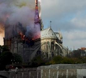 Incendie à Notre-Dame : La Terre Sainte prie pour l'Eglise de France