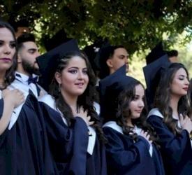 مدرسة البطريركية اللاتينية في بيت جالا تحتفل بتخريج الفوج الرابع والعشرين من طلاب – الإنجاز ٢٠١٩