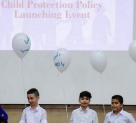 Launching of Child Protection Policy in Latin Patriarchate Schools in Ahliya College in Ramallah