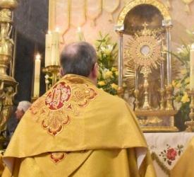 The Latin Church in Jerusalem celebrates Corpus Christi at the Holy Sepulcher