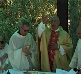 Pellegrinaggio in Terra Santa di RnS: una domenica al Monte delle Beatitudini