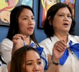 Les ordinaires catholiques regardent avec inquiétude la décision d'expulser des mères philippines avec leurs enfants