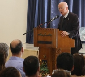 Bethlehem University kicks off academic year with annual faculty and staff meeting