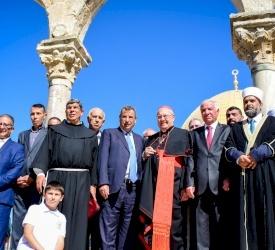 Les célébrations du huitième centenaire du pèlerinage de paix de saint François en Terre Sainte se sont achevées