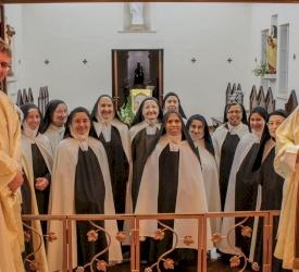 Une messe sur le Mont Carmel pour la Solennité de Sainte Thérèse d'Avila