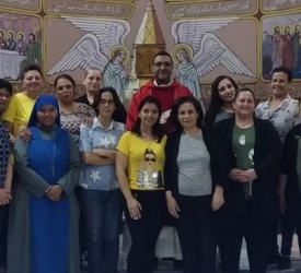 "Sisters of Incarnate Word organize first spiritual retreat for ""Daughters of St. Anne"" women's group in Gaza"