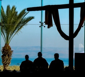 Inauguration and blessing of the Magdala Guest House