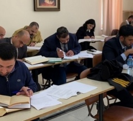 المحكمة الكنسية اللاتينية تعقد امتحان مزاولة للمحامين الراغبين في الانتساب لسجل المحامين الكنسيين المزاولين