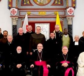 Saluti di Natale al Patriarcato Latino di Gerusalemme