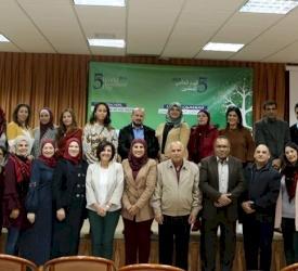 مناقشة مشاريع تخرج الدبلوم المهني المتخصص في التعليم لمعلمي مدارس البطريركية اللاتينية في فلسطين