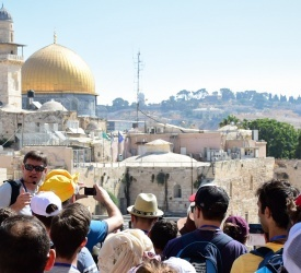 Record of Pilgrims in the Holy Land in 2019