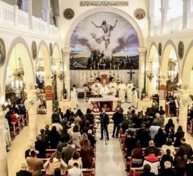 La paroisse de Ramallah célèbre la Sainte-Famille
