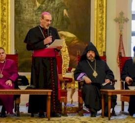 Le Patriarcat latin présente ses vœux de Noël au Patriarcat arménien de Jérusalem