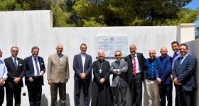 القنصل الإيطالي في زيارة لمشروع الإسكان التضامني الثالث ومركز الكشّاف الكاثوليكي