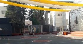 إنهاء مشروع المنطقة الرياضية والترفيهية في مدرسة البطريركية اللاتينية في غزة