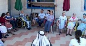 La maison de retraite Beit-Afram à Taybeh bénéficie de nouveaux équipements
