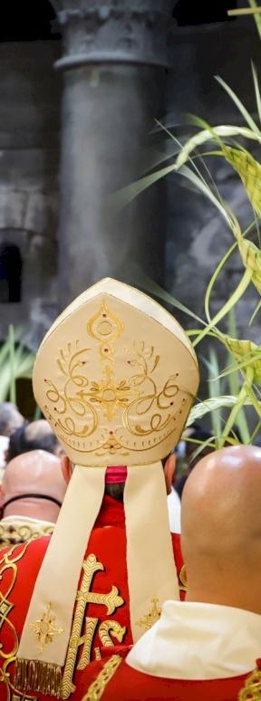 Palm Sunday Mass at Holy Sepulchre