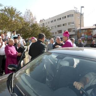 Speech of Archbishop Pizzaballa for his solemn entry into Nazareth, October 16, 2016