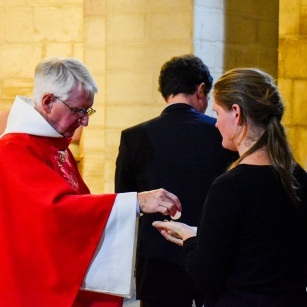 """Archbishop Pizzaballa: """"We must not approach the Eucharist as a magic element. The union with Christ does not cancel our humanity"""""""