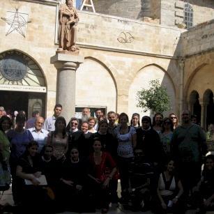 زيارة كنيسة المهد - ٢٠١٢