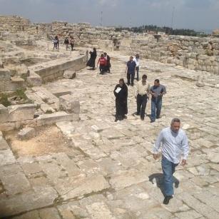 زيارة جبل جرزيم في السامرة -٢٠١٤