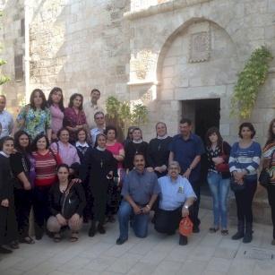 زيارة برقين حيث شفى السيد المسيح البرص العشرة - ٢٠١٤