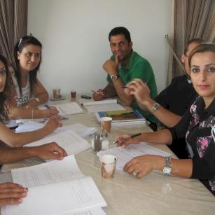 اجتماع معلمو ومعلمات الصف التوجيهي - ٢٠١٤