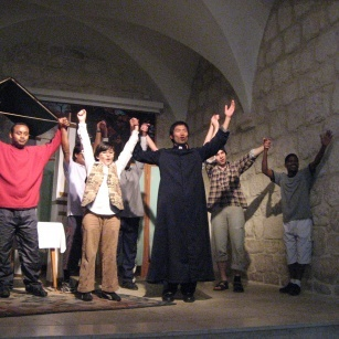 Spiritual retreats during the Lenten season for students of the Christian schools in Jerusalem 2008