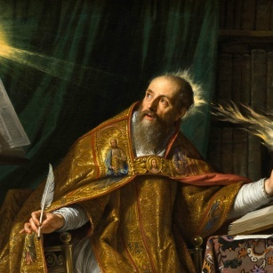 A Church's Father and Doctor called St. Augustine of Hippo
