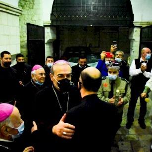 Latin Patriarchate welcomes its new Patriarch Pierbattista Pizzaballa