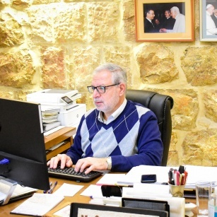 Riflessioni natalizie di Mr Sami El-Yousef dalla Terra Santa