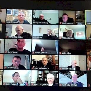 Virtual Meeting of Holy Land Coordination 2021: COVID-19, Gaza, Education